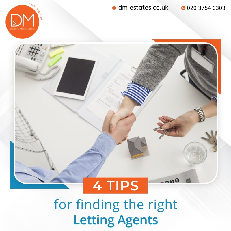 4 Tips for finding the right Letting Agents